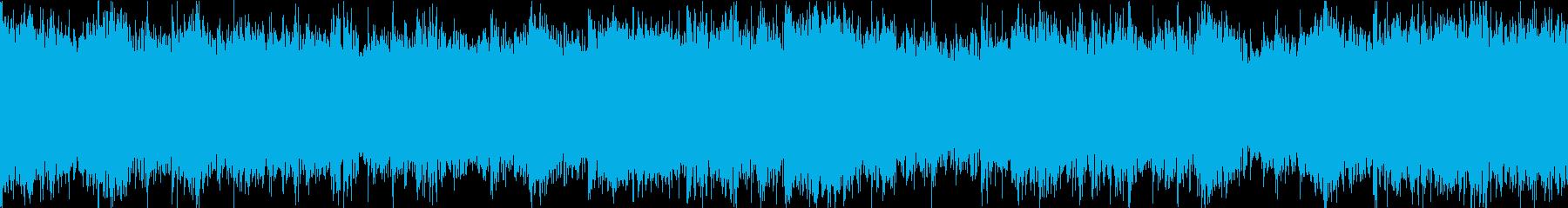 前向きになる希望に満ちた曲 ループverの再生済みの波形