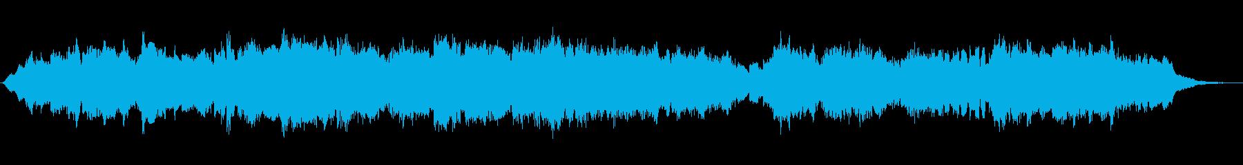 クラリネットとシンセのほのぼのジングルの再生済みの波形