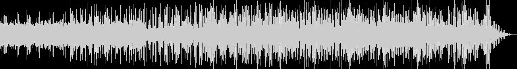 シンセのアルペジオが気持ちいいBGMの未再生の波形