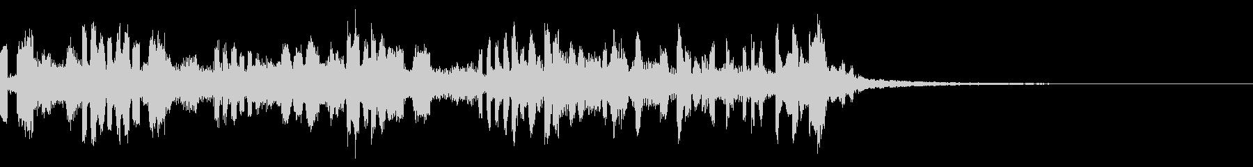 12秒ソング EDM 空間とスピードの未再生の波形
