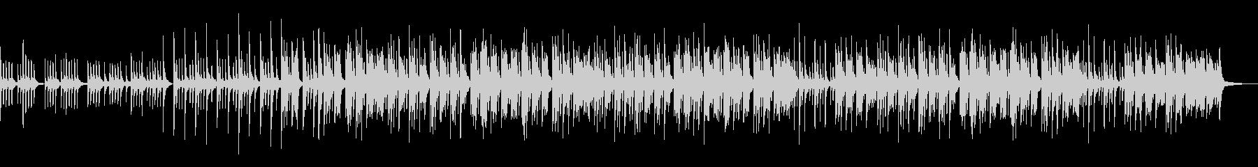 ノスタルジックなピアノソロの未再生の波形
