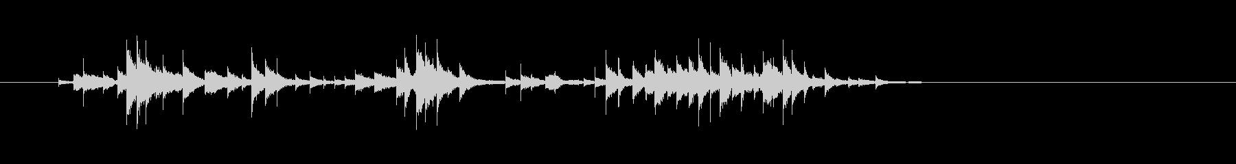 コメディフレキシトーンアクセント-...の未再生の波形