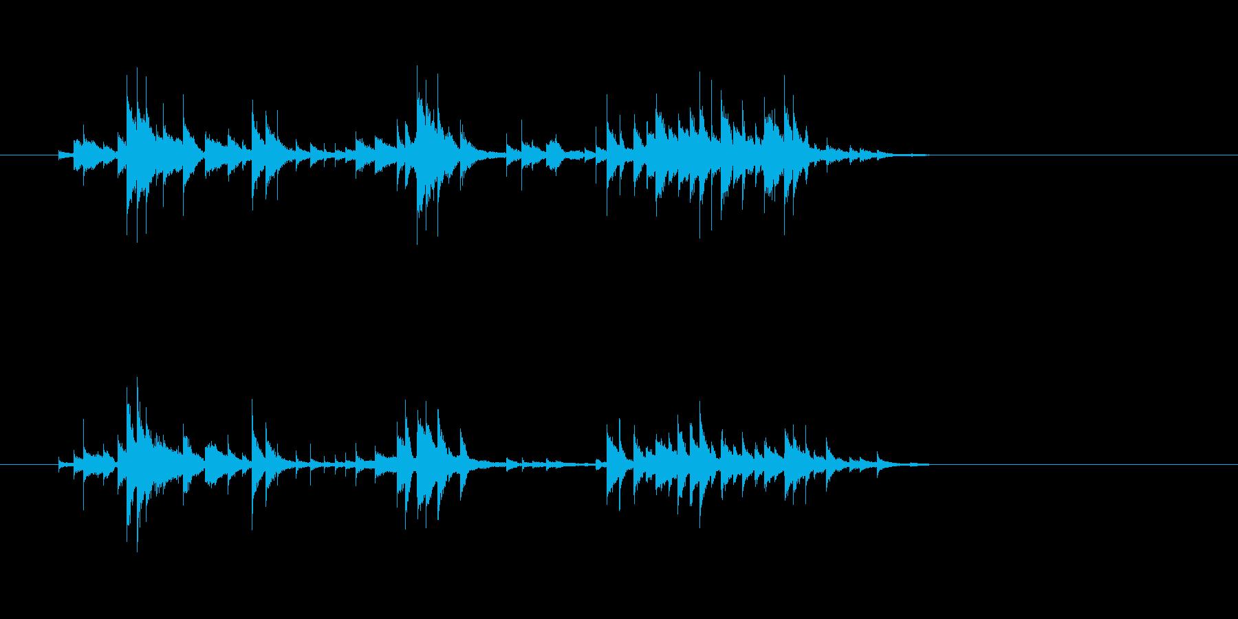 コメディフレキシトーンアクセント-...の再生済みの波形