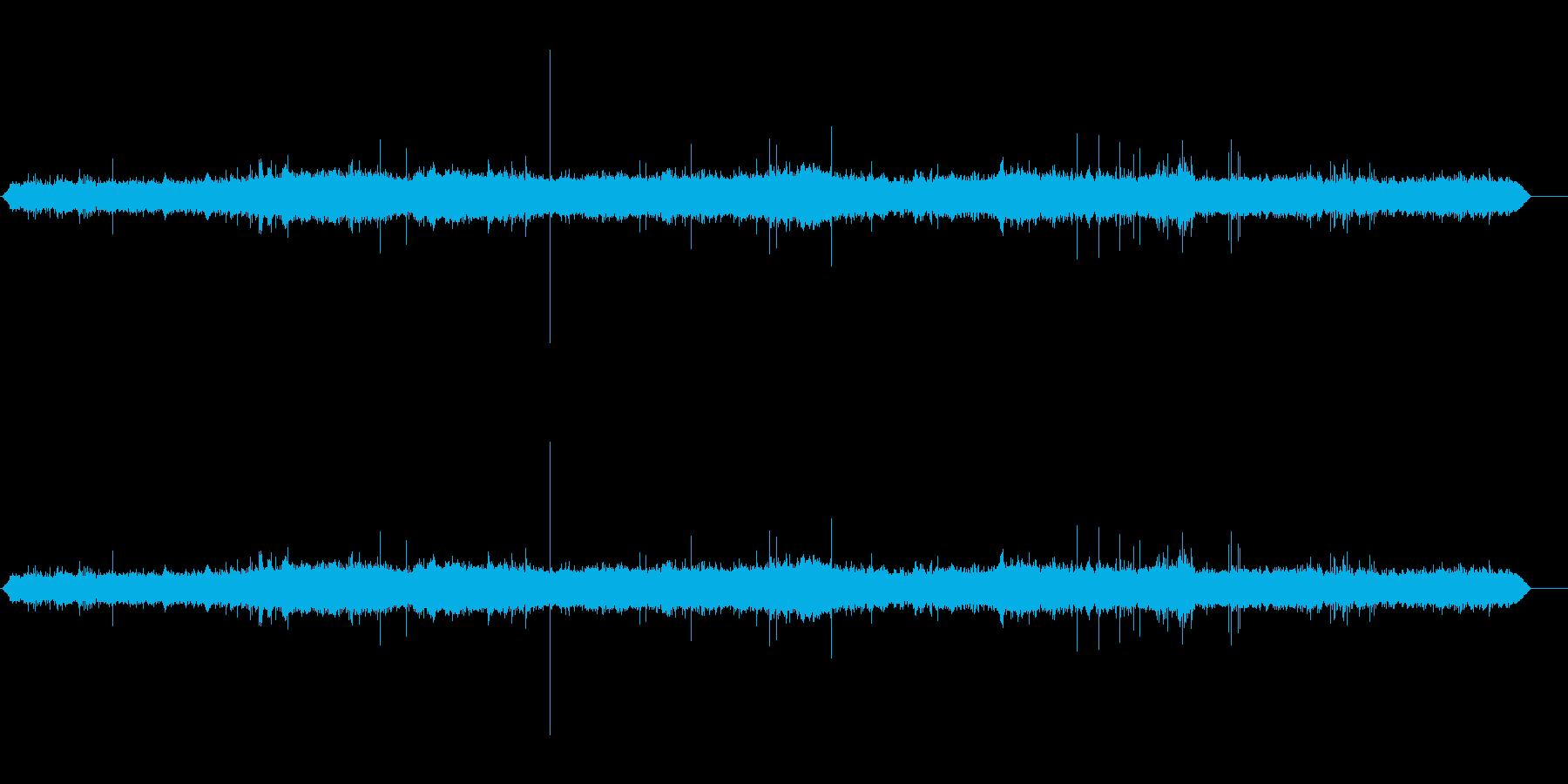 つぶやき声オフィス情報の再生済みの波形