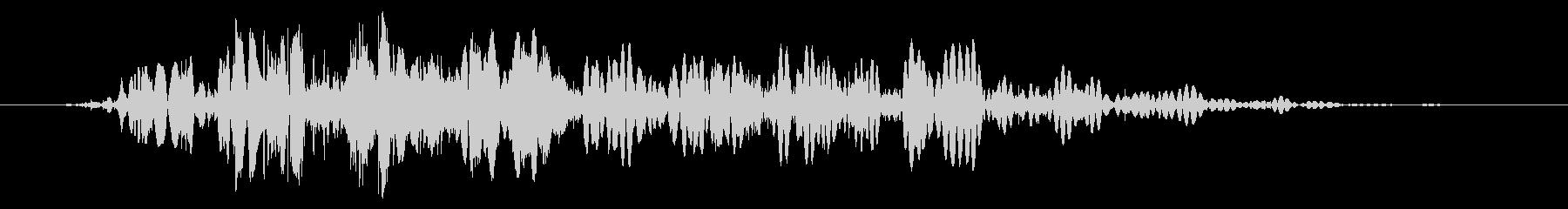 スライムなどが蠢く音 タイプC#5の未再生の波形
