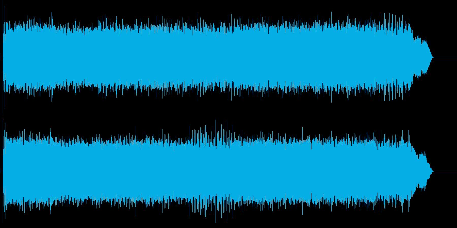 出囃子、動画OPに使える勢いあるBGMの再生済みの波形