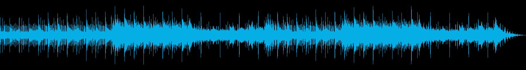 煌めき・光・水中・時間・儚い・BGMの再生済みの波形
