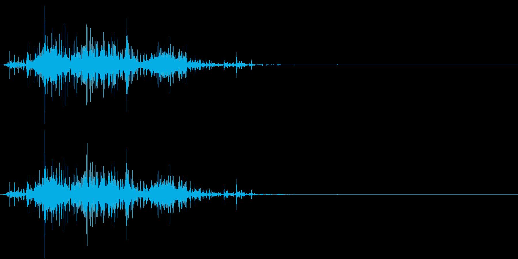 Zombie ゾンビが噛み付く音 捕食の再生済みの波形
