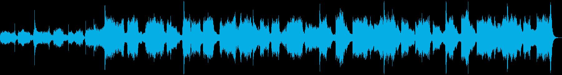 日本の癒し!雅楽の名曲「越天楽」の再生済みの波形