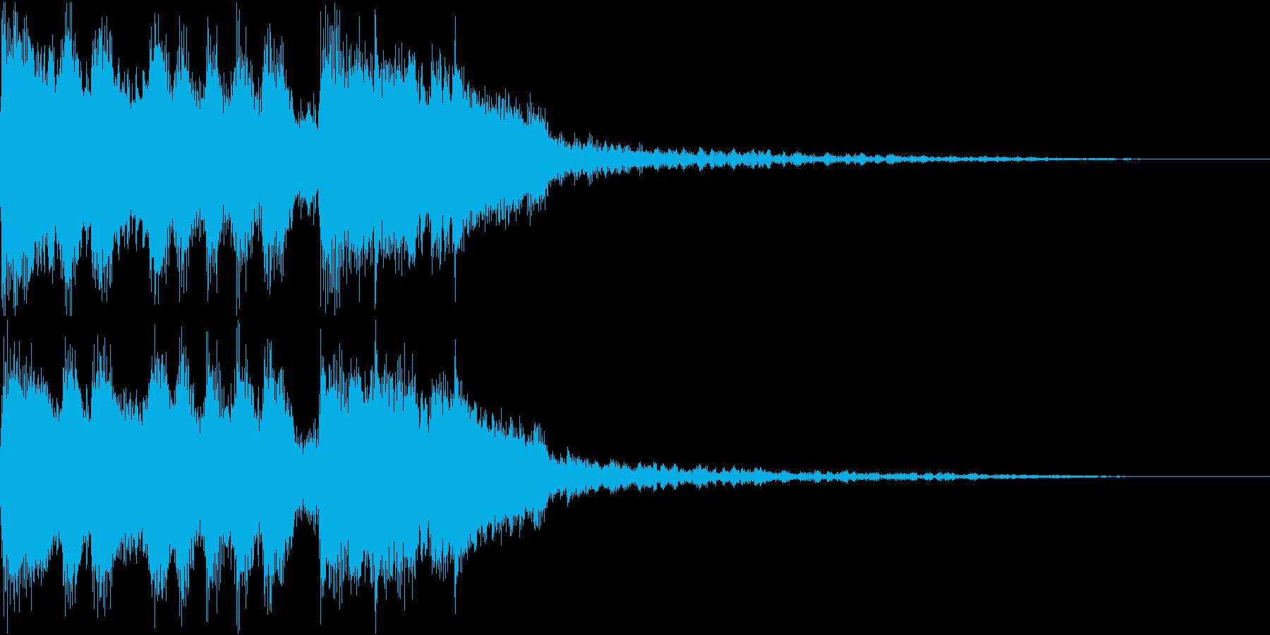 豪華なファンファーレ 達成 成功 Eの再生済みの波形