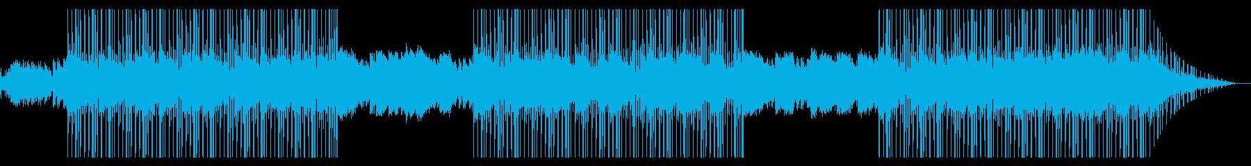 雨が降る東京 ギター 三味線 ローファイの再生済みの波形