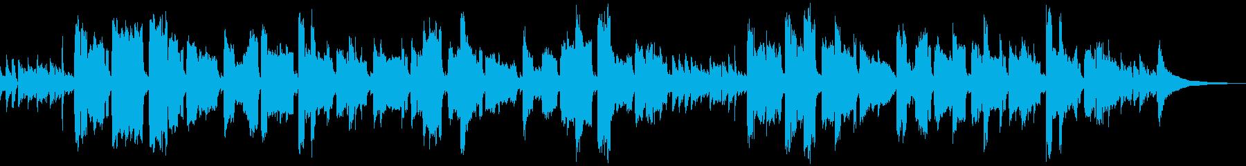 唱歌「ふるさと」の男声ギター弾き語りの再生済みの波形
