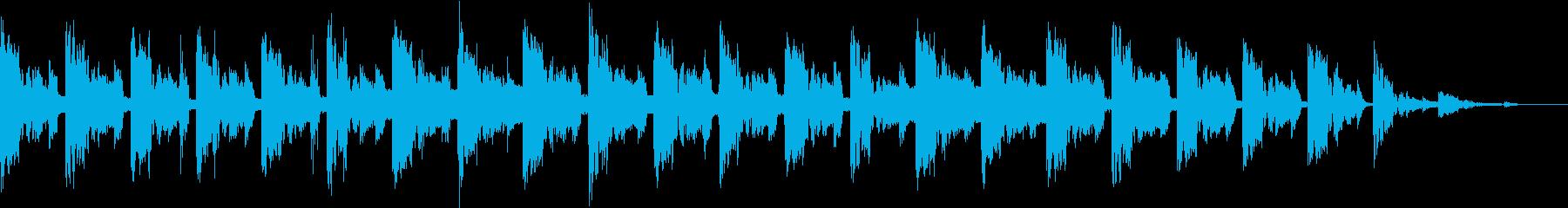 ニュースのオープニングに最適なジングル。の再生済みの波形