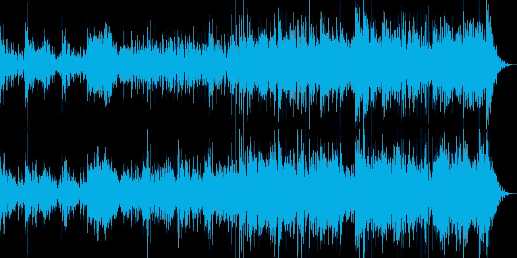不気味・力強い・勢い!太鼓と尺八中心の曲の再生済みの波形