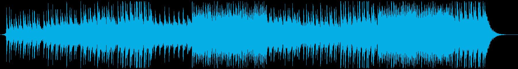 PV映像-壮大エピック-ポストロックの再生済みの波形