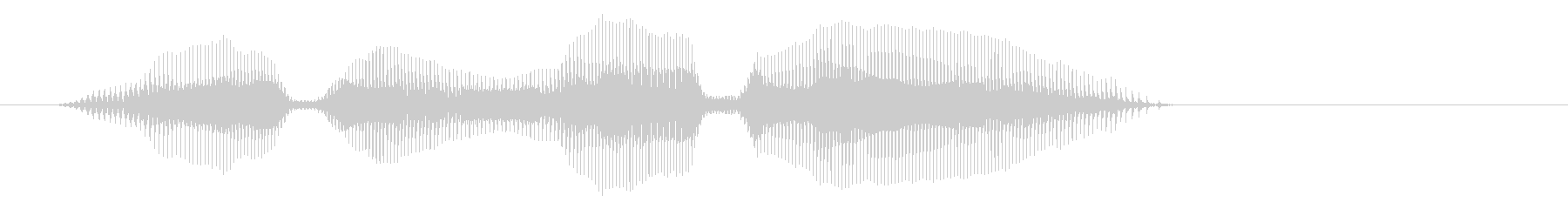 ヤダヤダーの未再生の波形