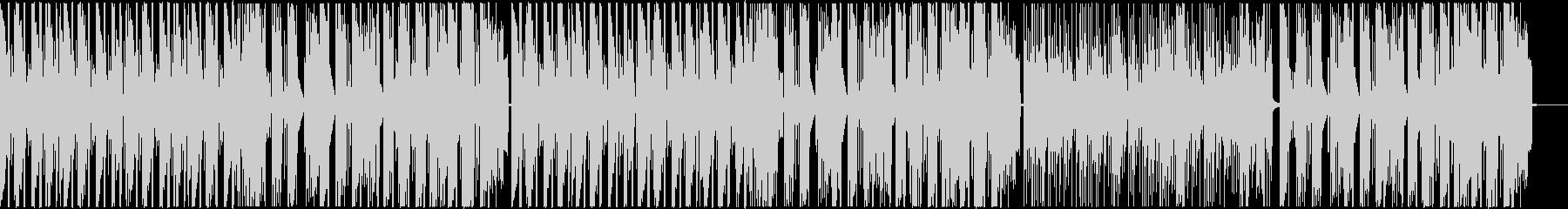 ポップで明るいフューチャーベース/声抜きの未再生の波形