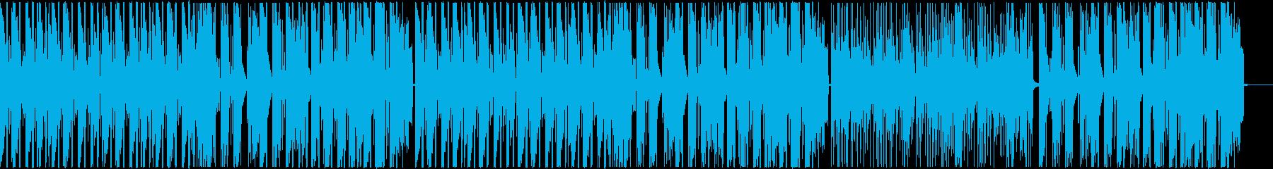 ポップで明るいフューチャーベース/声抜きの再生済みの波形