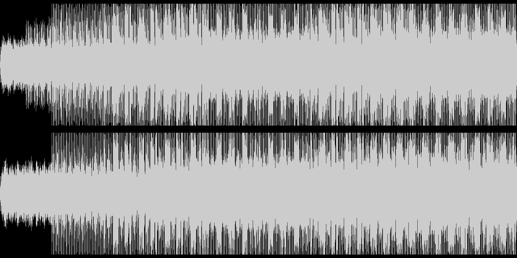 シンキングタイム(Loop対応)の未再生の波形