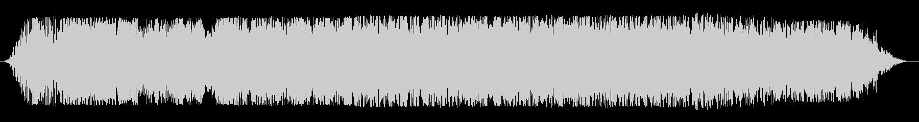 宇宙船通過(上り調子・音色3種)の未再生の波形