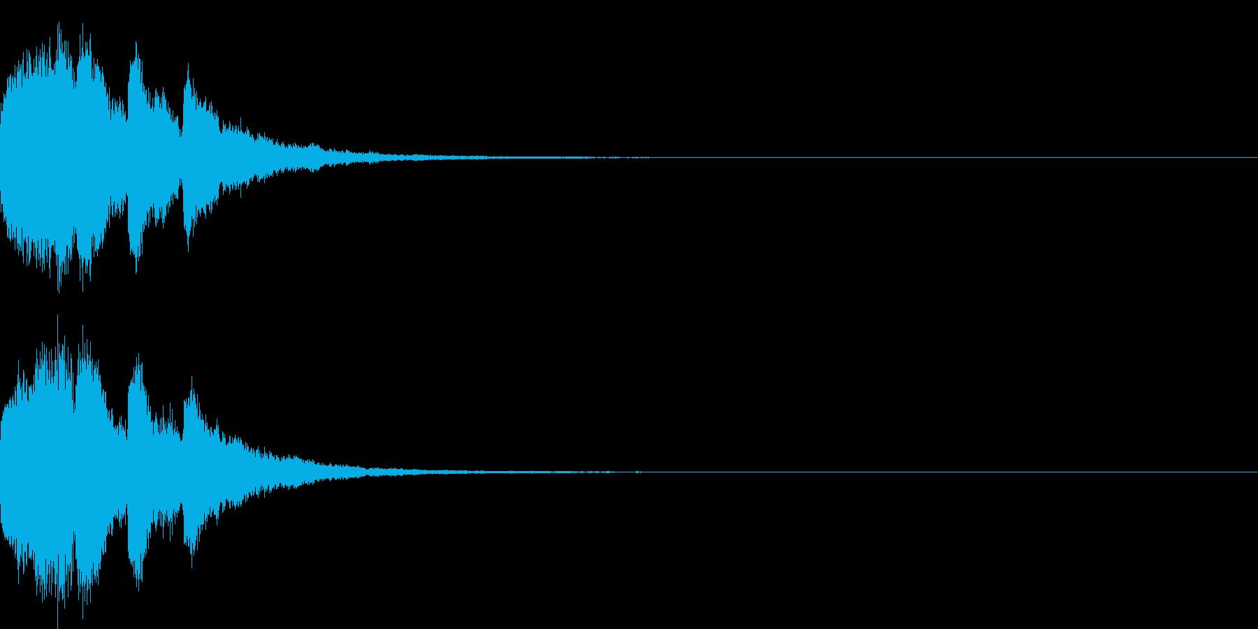 アナウンス 案内 実験 チャイム 07の再生済みの波形