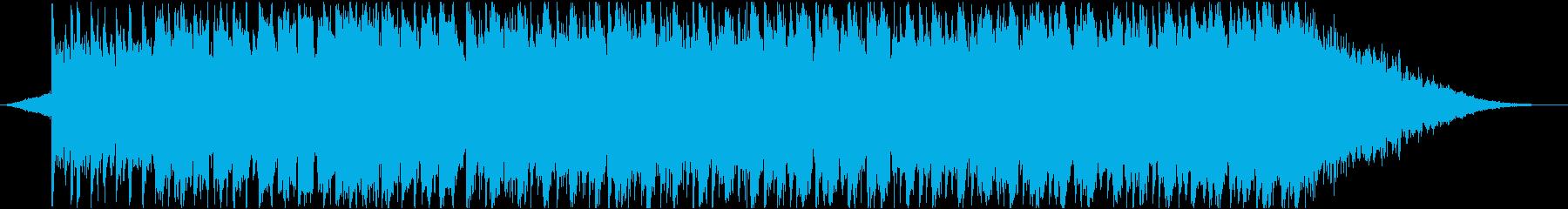 爽やかで明るい30秒ジングルの再生済みの波形