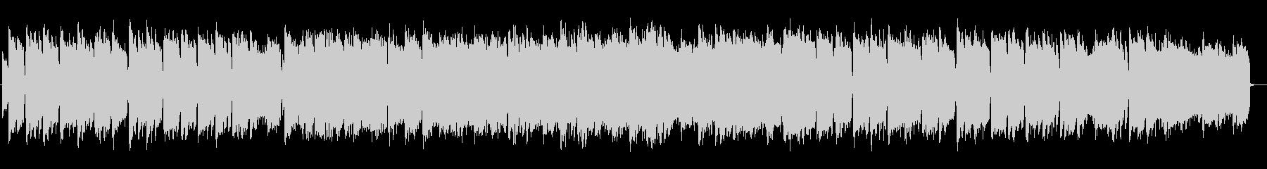 和のメロディ琴と尺八のアンビエントハウスの未再生の波形