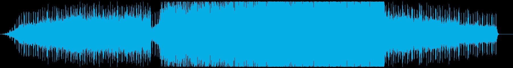 シンセのワンリフに様々な楽器が重なるの再生済みの波形