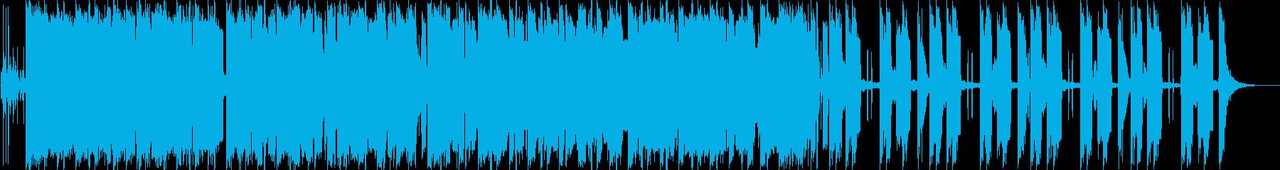 軽快かつコミカルの再生済みの波形