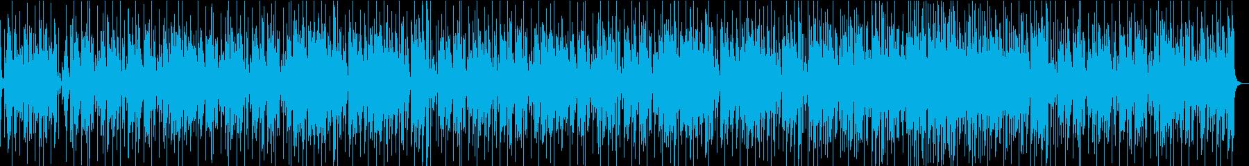 昼下がりのティータイムに合うボサノバの再生済みの波形