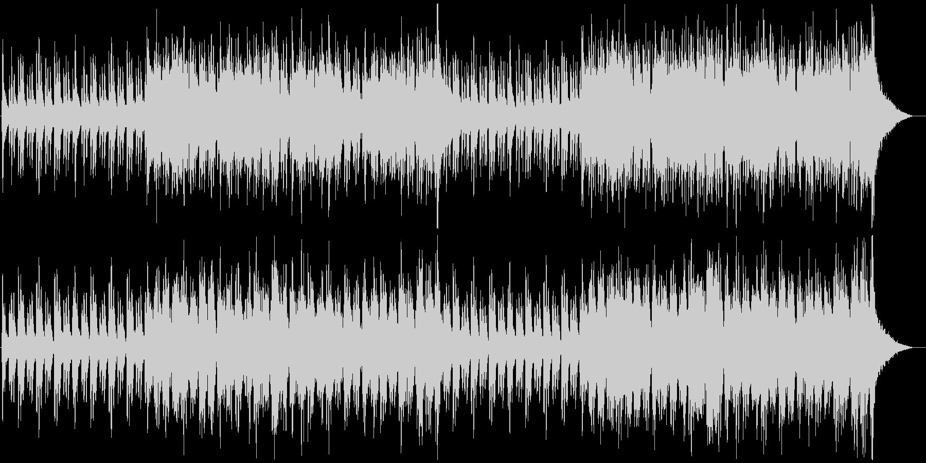 新生活が始まるようなオーケストラBGMの未再生の波形