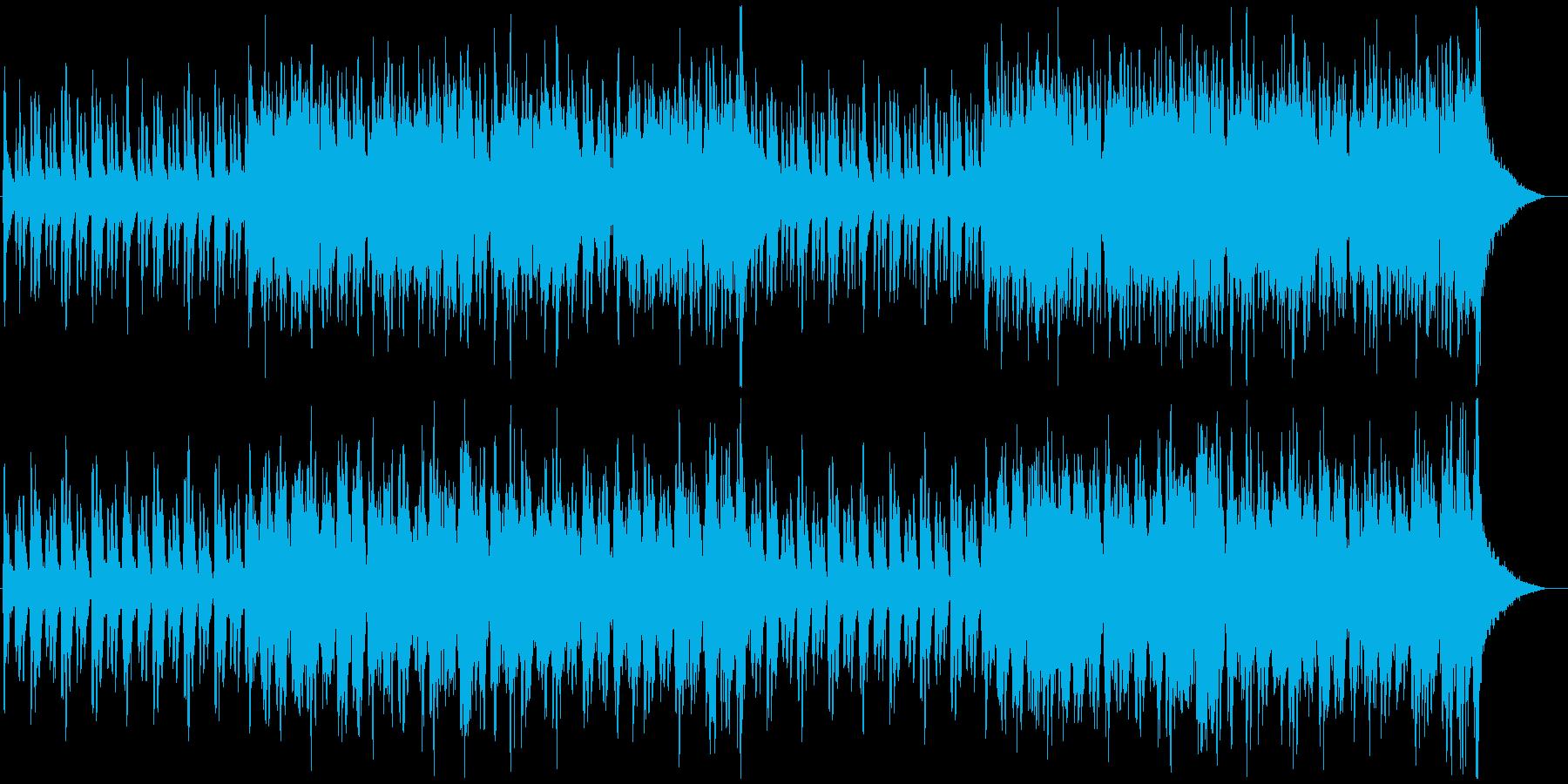 新生活が始まるようなオーケストラBGMの再生済みの波形