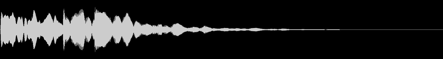 ピンポンパンポン03-2(バイノーラル)の未再生の波形