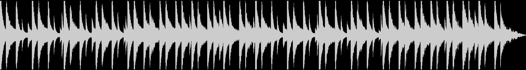 ピアノと環境音のチル (ループ)の未再生の波形