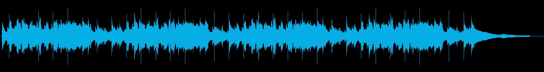 ほのぼのスローライフなアコースティックの再生済みの波形