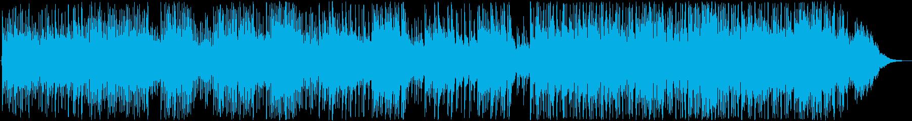 明るく繊細でゆったりとしたメロディック曲の再生済みの波形