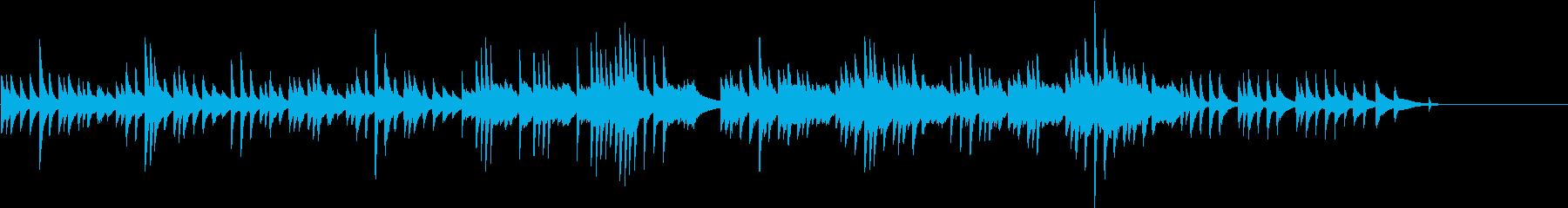 子もり唄風♪童謡・こいのぼりピアノBGMの再生済みの波形