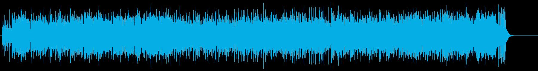 流れるギターリフが印象的なポップロックの再生済みの波形