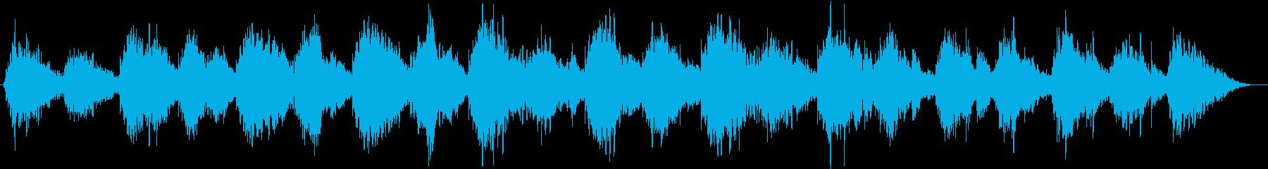 柔らかく温かなアンビエントの再生済みの波形