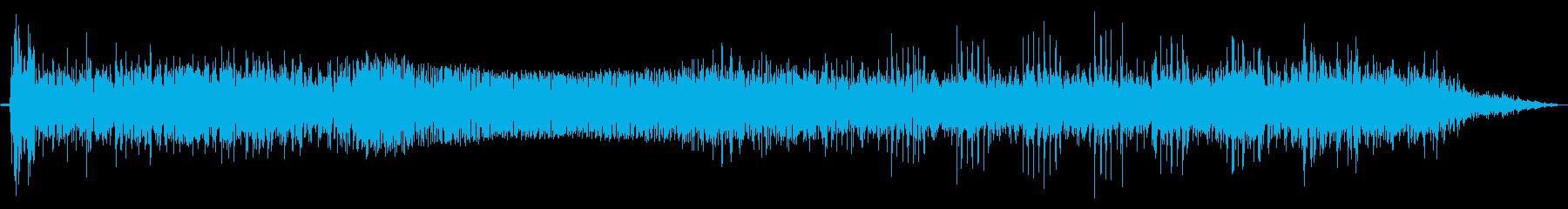 モーターパワーダウン、ロング、エク...の再生済みの波形