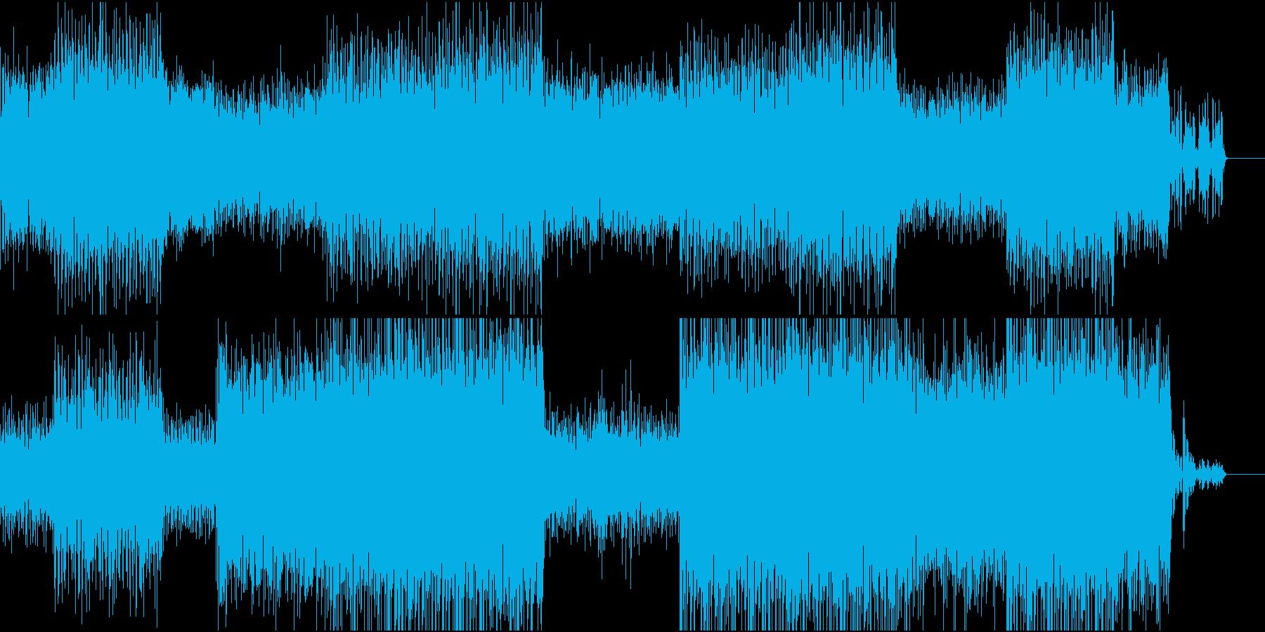 冒険的でファンタジックなポップスの再生済みの波形