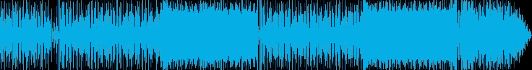 重厚ファンキービートとドラマチックな展開の再生済みの波形