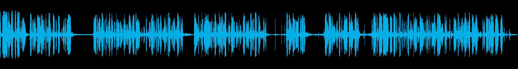 アナウンサーカーレースメガホンbの再生済みの波形