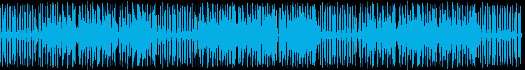 シンプルなタンゴの再生済みの波形
