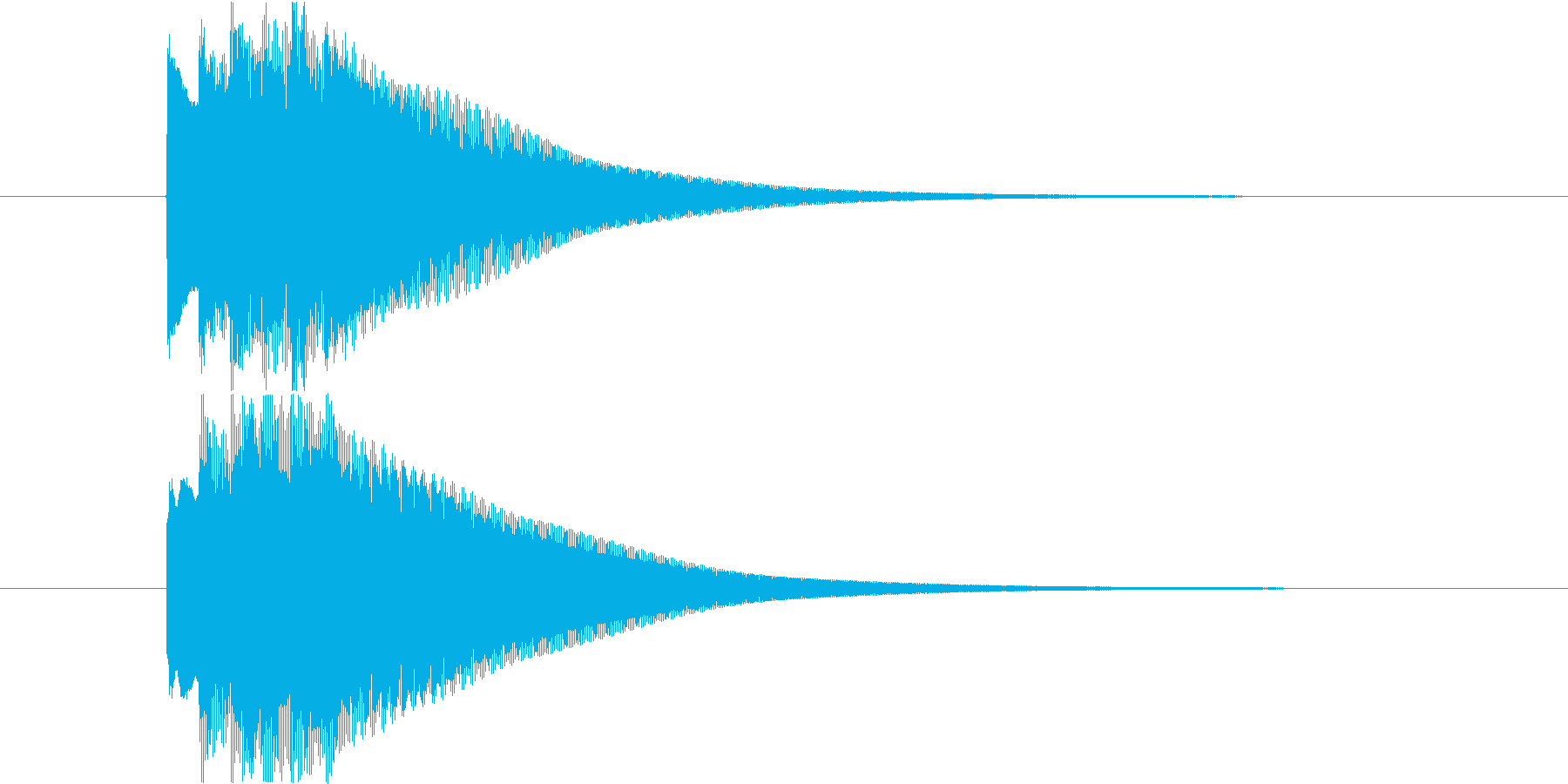 ピンポンピンポンピンポーン!!の再生済みの波形