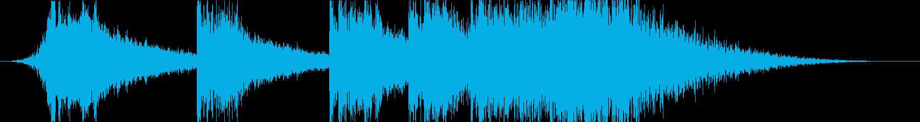 実験的な バトル 焦り 暗い ホラ...の再生済みの波形