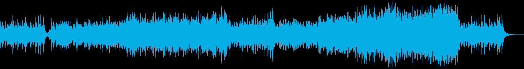 ファンタジックで壮大なオーケストラバトルの再生済みの波形