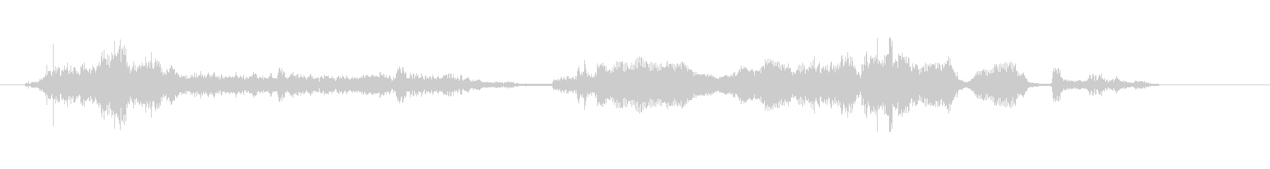 ノイズ ローファイランダムネス02の未再生の波形