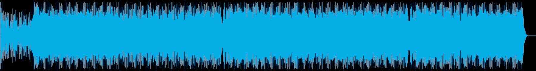 可愛らしいダンスポップ6 フル歌の再生済みの波形