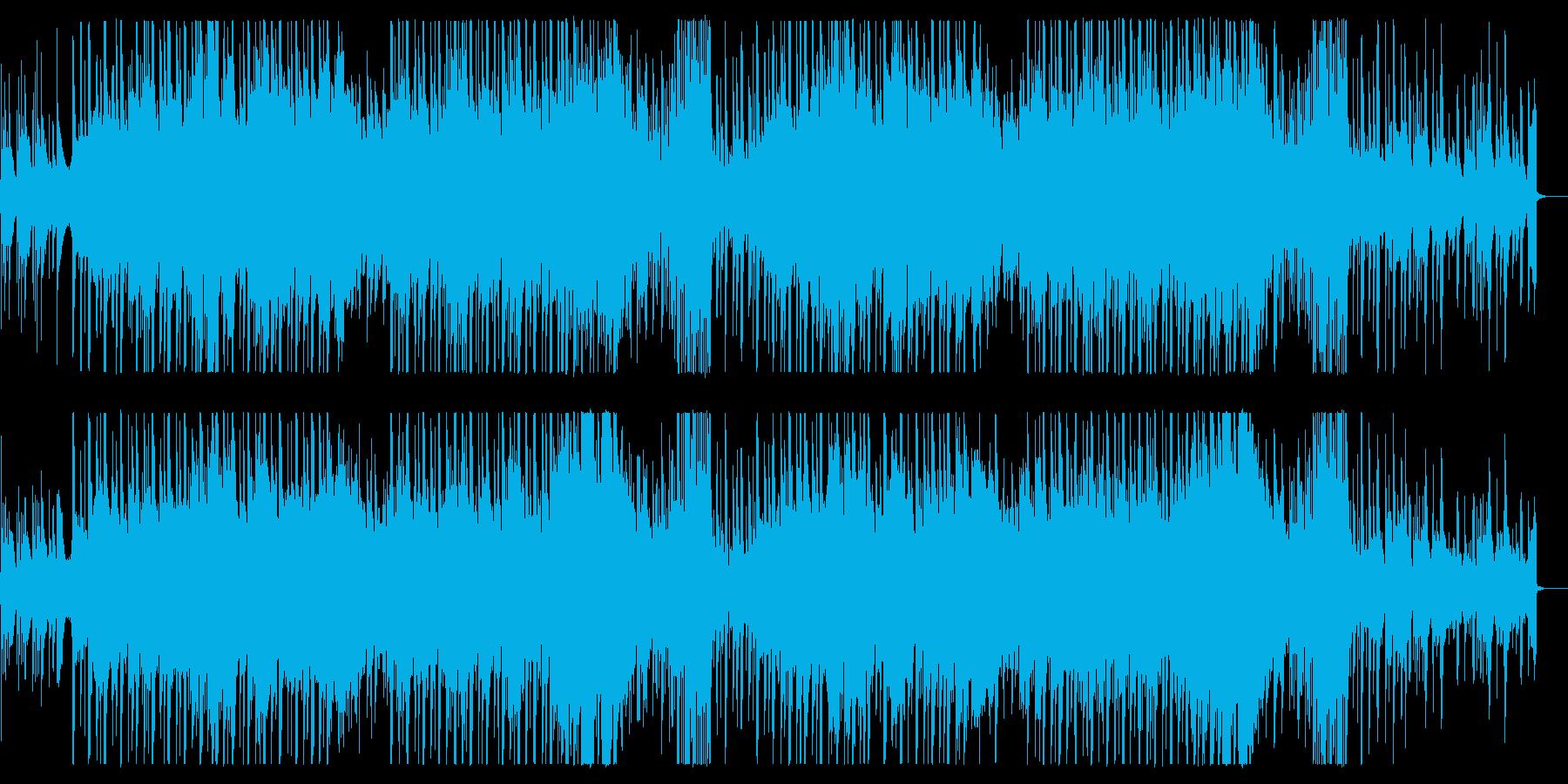 クールな和風ダブステップ、EDMの再生済みの波形